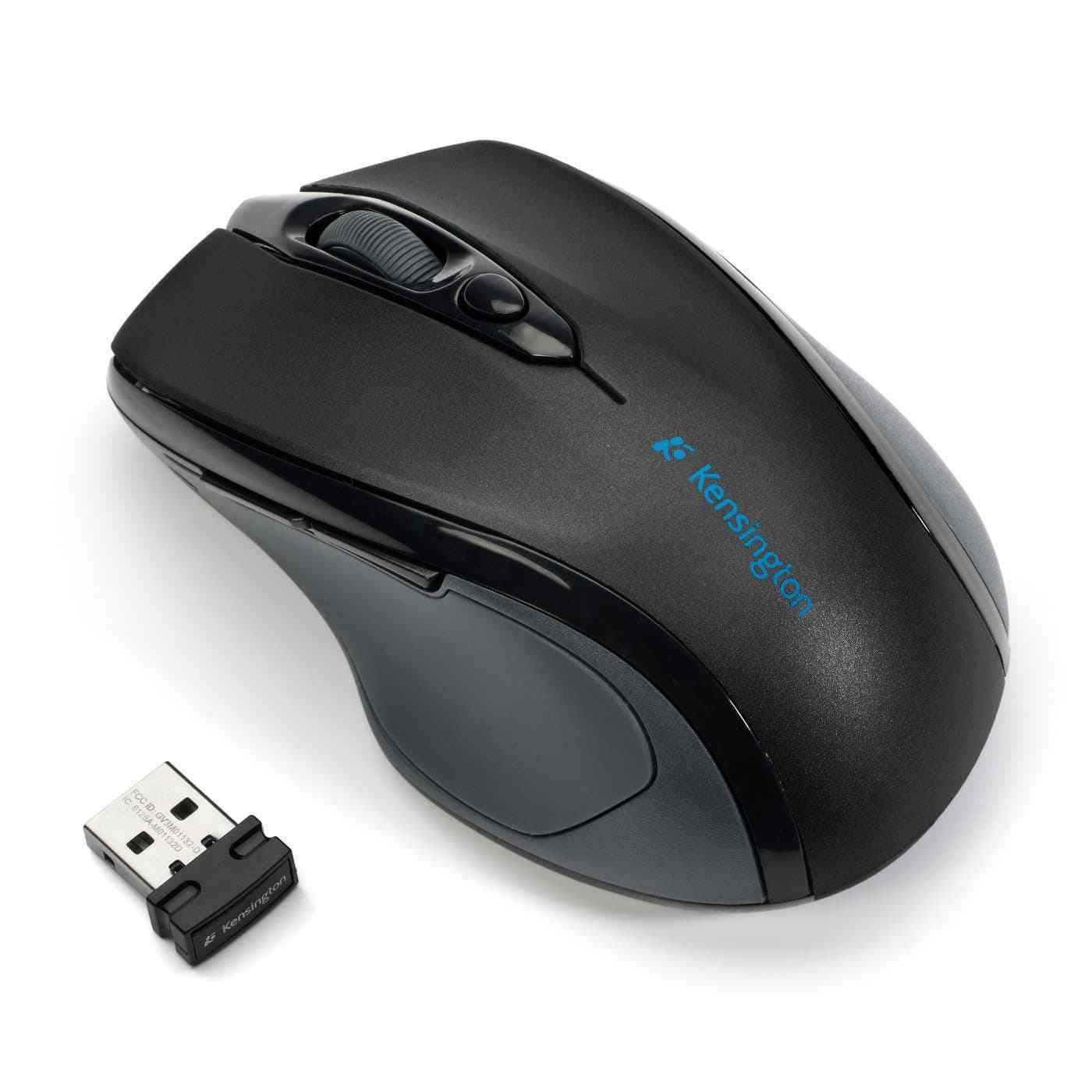 Kensington Pro Fit Mid-Size 2.4GHz Wireless Optical Mouse - Right Handed