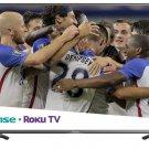 "Hisense 55"" 4K Ultra HD Roku Smart TV with HDR *55R7E"