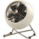 Vornado VFAN Mini Personal Air Circulator Desk Fan - Vintage White