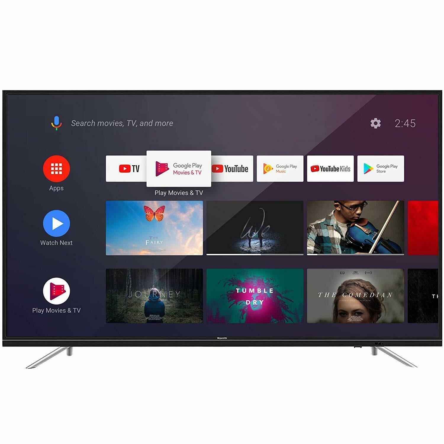 Skyworth 65-inch 4K Ultra HD HDR Smart Android TV - 65U2200