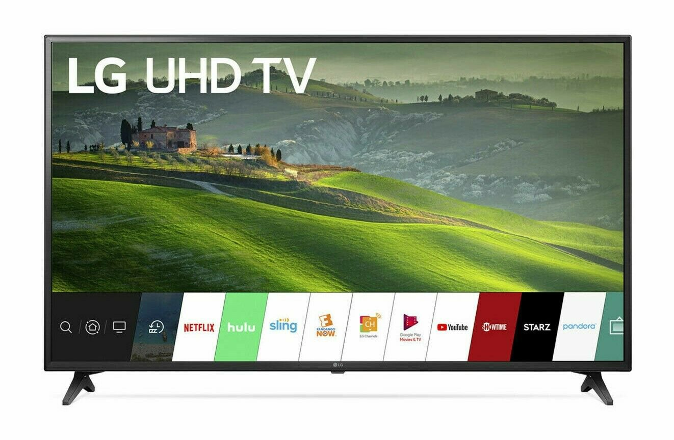 LG 55 inch 4K Ultra HD HDR Smart IPS LED TV - 55UM6910
