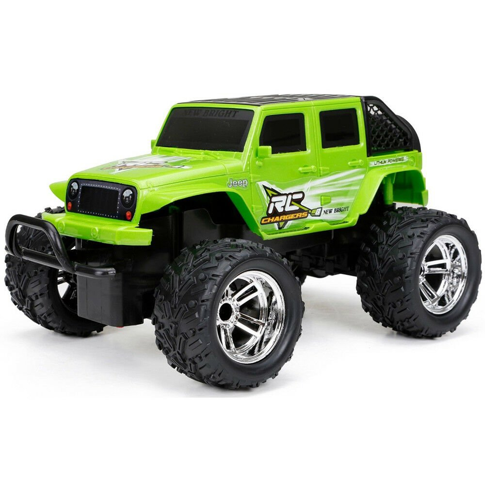New Bright R/C Full Function Jeep Wrangler w/ 2.4GHz Technology #JEEPWRANGRC