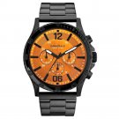 Caravelle New York 45A108 Mens Black Finish Chronograph Watch