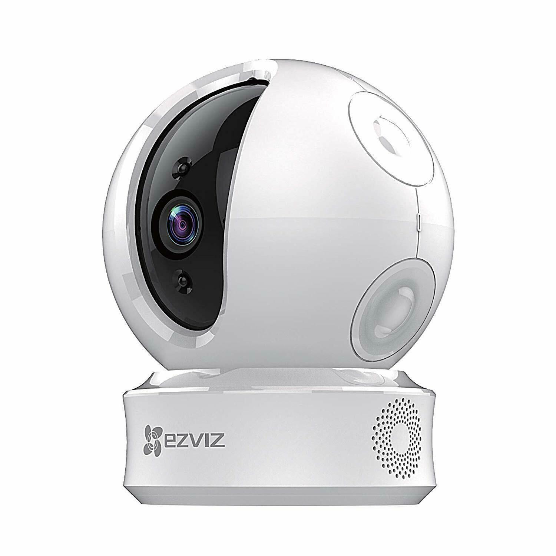 EZVIZ C6C 720p Indoor Surveillance Pan/Tilt WiFi Network Security Camera w/ Two-way Audio