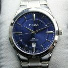 Pulsar Men's Casual Quartz Stainless Steel Bracelet Watch - Silver Tone #PS9521