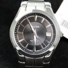 Pulsar Mens Stainless Steel Dress Bracelet Watch, Silver, Luminous Hands #PXH913