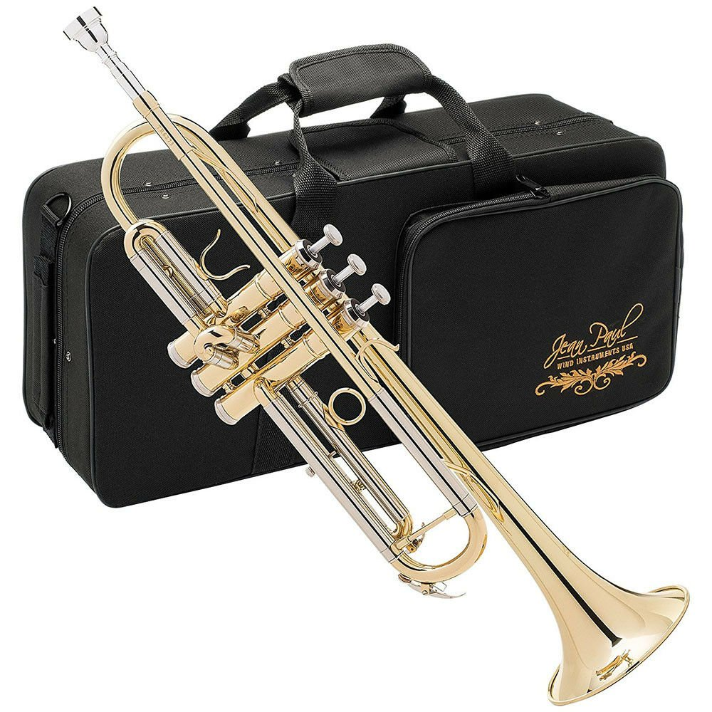 Jean Paul TR-330 Standard Bb Student Trumpet with Carrying Case