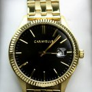 Caravelle New York Men's Quartz Watch with Stainless-Steel Strap, Gold  #44B121