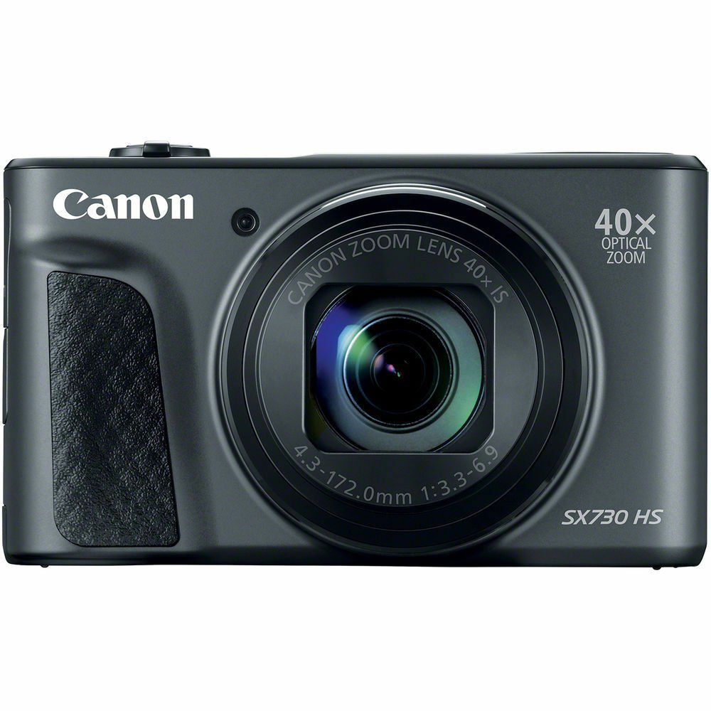 Canon PowerShot SX730 HS 20.3MP Digital Camera with Wi-Fi & Bluetooth in Black