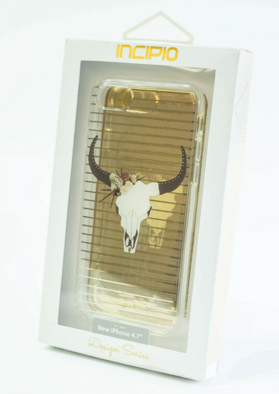 Incipio  iPhone 7/8   Scratch Resistant Case   -Translucent/Longhorn #IPH1483LHN