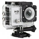 Proscan PAC2000 Waterproof Action Camera with Bike & Helmet Mount