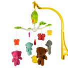 Baby Crib Mobile Musical Lullaby Hanging Dangling Teddy Bears with Sound