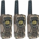 Cobra 37-Mile Waterproof Rechargeable Camo Two-Way Radio Walkie Talkie - 3 Pack