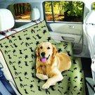 Etna Waterproof Dog Theme Pet Cat Dog Car Vehicle Seat Cover