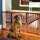 Etna 3-Section Folding Free Standing Wooden Pet Gate