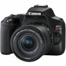 Canon EOS Rebel SL3 24.1MP DSLR Camera with 18-55mm Lens - Black