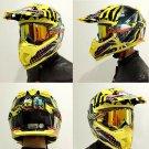 1PC Motorcycle Motocross Racing Googles ATV Dirt Bike Helmet Glass Ski Goggle