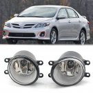 Pair of LED Fog Light Left Right RH LH Side Fit For Toyota Camry Yaris Lexus CHY