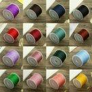 1* 45M Nylon Cord Thread Chinese Knot Macrame Rattail Bracelet Braided String CY