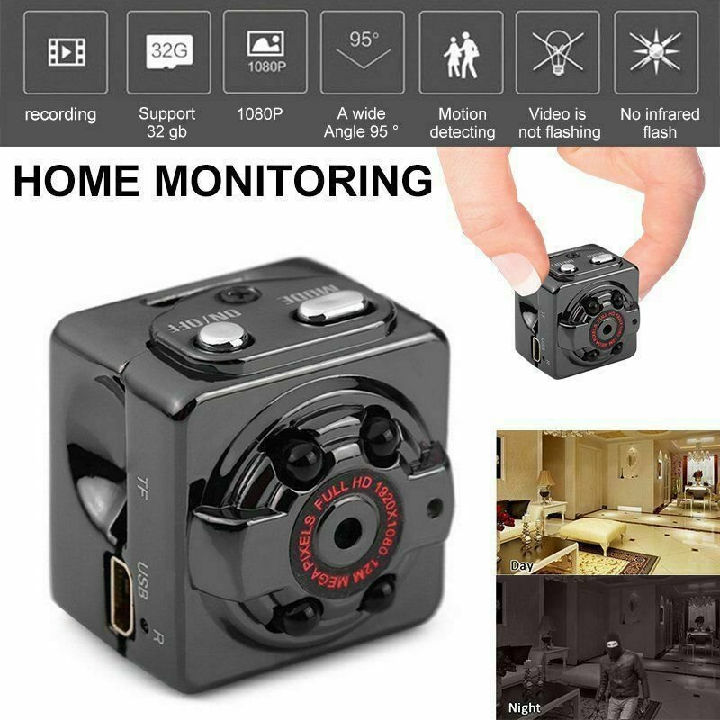 Hidden Mini SpyCamera Wireless HD 1080P Digital Video Motion Activated Camera YY