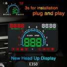 "Car HUD Head Up Display OBD II OBD2 Auto Gauge 5.8"" Dash Screen Speeding Warning"