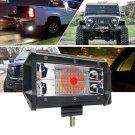 """5"""" LED Pod Work RV Light Bar Spot Beam Off-Road Driving Fog Lights 12V 72W CHY"""