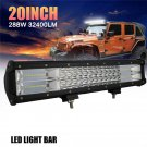"""20"""" 540W Spot Flood Combo Beam LED Work Light Bar for Driving Fog lamp /SUV/DRL"""