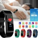 Bluetooth Smart Wristband Sport Watch Heart Rate Blood Pressure Monitor CHY