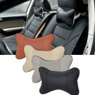 Pair Car Seat Head Neck Rest Support Cushion Pad HeadRest Bone Safety Pillows
