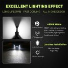 Nighteye 2 PCS 9005 160W LED 6500K White Fog Driving Light Bulbs CHY
