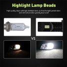 Nighteye 9006 HB4 160W LED Fog Light Bulbs Car Driving Lamp DRL White High Power