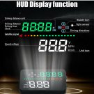 Universal Car Digital GPS Speedometer Head Up Display HUD Tired Warning Alarm Y