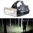 30W LED COB USB Rechargeable 18650 Headlamp Headlight Fishing Torch Flashlight Y