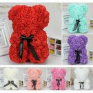 Rose Bear Flower Teddy Gift For Girlfriend Wedding Birthday Valentine's Day CHY