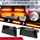 2x Amber Dynamic Side Marker Light Indicator For Adam Opel Corsa Insigina Zafira