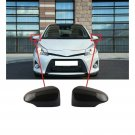 2x Car Front Side Rearview Mirror Wing Cover Caps Trim For Toyota Camry 12-17
