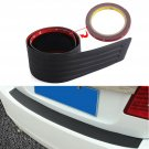 Car SUV Rear Bumper Sill/Protector Plate Rubber Cover Guard Pad Moulding Trim Y