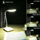 Dimmable Touch Sensor LED Light USB Desk Table Reading Lamp Studying Working