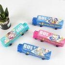 Cute Students Pencil Box Train Shape Pencil Case Storage Box Creative Stationery