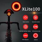XLite100 Waterproof Bicycle Smart Brake Sensor LED USB Tail Light Rear Lamp CHY