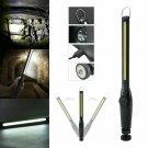 Multifunction 10000 Lumen COB LED Slim Work Light Lamp Flashlight Rechargeable Y