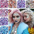 2019 Hot 3D Nail Art Rhinestones Flat Shaped Elongated Glass Colorful Stones Y