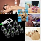 6/12 Cups Medical Chinese Vacuum Body Cupping Massage Healthy Therapy Suction