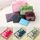 6Pcs Travel Storage Bag Waterproof Clothes Packing Cube Luggage Organizer Set CY