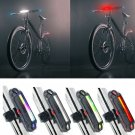 6 Modes Super Bright Bike Tail Light LED USB Bycicle Safety Rear Warning Lamp Y