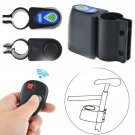 Bike Alarm Lock Bicycle Security Wireless Remote Control Vibration Anti-theft HY