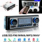 Bluetooth Vintage Car Radio MP3 Player Stereo USB AUX Classic Car Stereo CHY