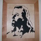 Jesus, Scroll saw portrait