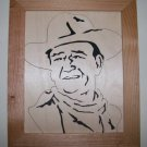 JOHN WAYNE SCROLL SAW PORTRAIT 004