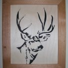 Mule Deer Scroll Saw Picture